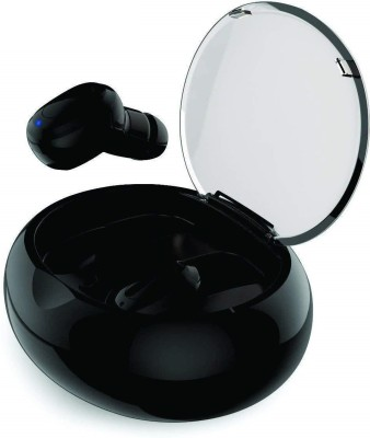 Gadget Bucket Wireless Bluetooth Headphone with Charging case Bluetooth Headset(Black, In the Ear)