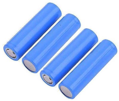 Schrodinger 90038 4pcs / Order 2400mah 18650 Rechargeable 3.7V Lithium Ion (not AAA or AA) Battery(Pack of 4)