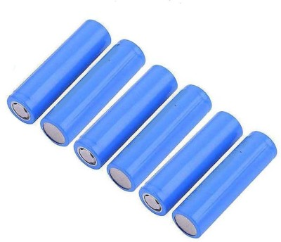 Schrodinger 90039 6pcs / Order 2400mah 18650 Rechargeable 3.7V Lithium Ion (not AAA or AA) Battery(Pack of 6)