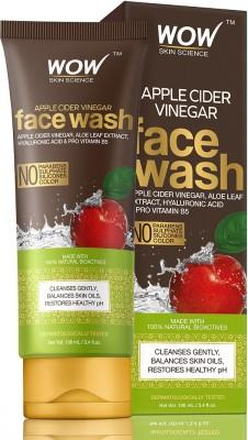 WOW SKIN SCIENCE Apple Cider Vinegar  100mL Tube Face Wash(100 ml)