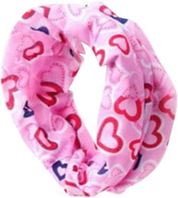 Futaba Bicycle Outdoor Bandana Bohemia Head Face Mask - Pink Hearts Anti-pollution Mask(Pink, Pack of 1)