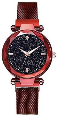Feston Starry sky Watches For girls Fashion Black Lady Analog Watch  - For Girls