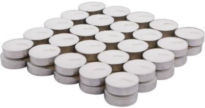 Flipkart SmartBuy 50Pcs White Candle  (White, Pack of 50)