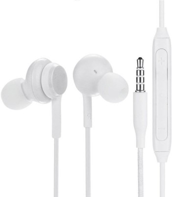 ZOYASLIX HIGH DEFINITION SOUND WHITE AKG J9 FOR OP.PO/VIVO/MI/HONOR/ASUS Wired Headset(White, In the Ear)