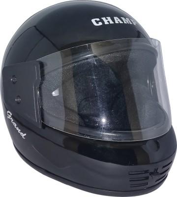 Mob2Shop.in Camp_6 Motorbike Helmet(Black)