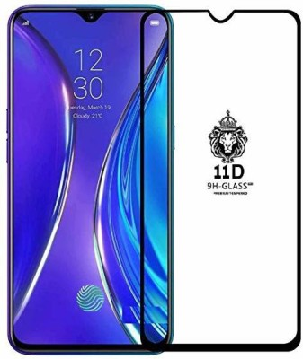 Richuzers Edge To Edge Tempered Glass for Realme XT, Realme X2(Pack of 2)