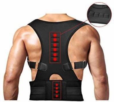 DEAGAN Real Doctors Plus Posture Support Belt Back & Abdomen Support (Black) Back & Abdomen Support(Black)