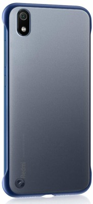 INCLU Back Cover for Frameless Ultra Thin Matte Finishing Grip Case Cover For Xiaomi Redmi 7A(Blue, Hard Case)
