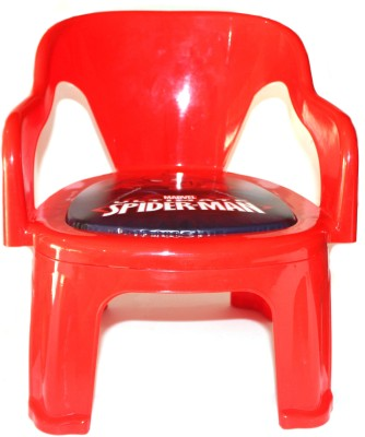 SK Toy world Metal Chair(Finish Color - Orange)