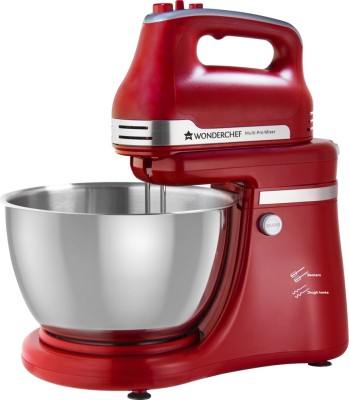Wonderchef Revo Stand Mixer and Dough Kneader 300 W Stand Mixer(Red)