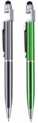 Rolgo1 Universal 3 in 1 Capacitive Stylus Pen with mobile Stand Mobile Holder Rolgo1 Mobile Holders