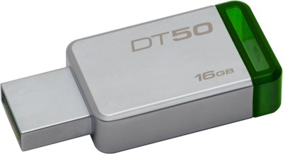 Kingston Metal USB Flash Drive DT50 16  GB Pen Drive