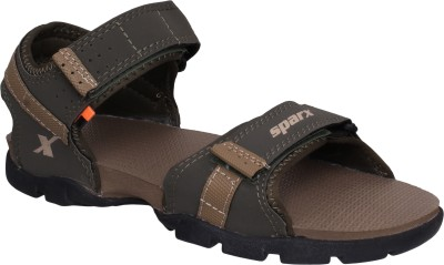 Sparx SS-109 Men Green, Beige Sports Sandals