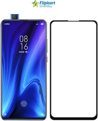 SHEETAL TRADERS Edge To Edge Tempered Glass for Edge To Edge Full Glue 11D Tempered Glass For Redmi K20 Pro(Pack of 1)