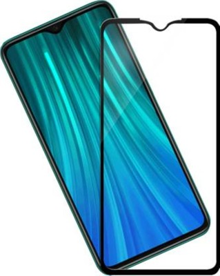 SHEETAL TRADERS Edge To Edge Tempered Glass for Edge To Edge Full Glue 11D Tempered Glass For Redmi Note 8 Pro(Pack of 1)