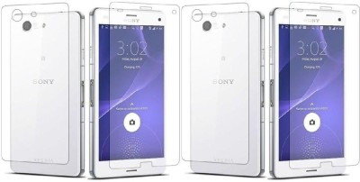 COZR Front and Back Screen Guard for Sony Xperia Z Ultra(Pack of 4)