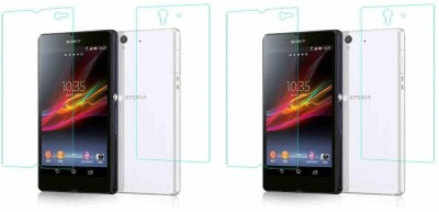 COZR Front and Back Screen Guard for Sony Xperia Z1(Pack of 4)