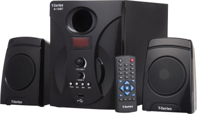T-Series M150BT 2.1 Bluetooth Multimedia Speaker System Black 27 W Bluetooth Home Theatre(Black, 2.1 Channel)
