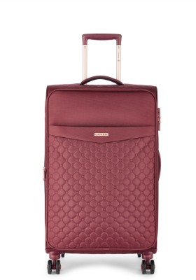 Caprese Alexandria Str Exp 8W 69 Berry Expandable  Check-in Luggage - 27 inch(Maroon)