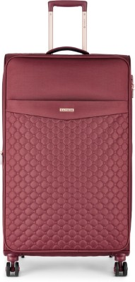 Caprese Alexandria Str Exp 8W 81 Berry Expandable  Check-in Luggage - 32 inch(Maroon)