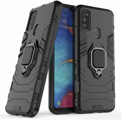 DMG Back Cover for Samsung Galaxy M30s(Black, Rugged Armor)