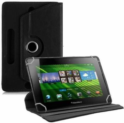 TGK Flip Cover for BlackBerry PlayBook 7 inch Tablet(Black, Cases with Holder)