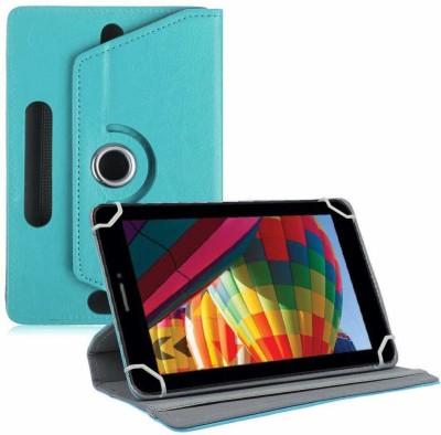 "TGK Flip Cover for iBall Slide Performance Series 3G 7271-HD70 Tablet 7""(Blue, Cases with Holder)"