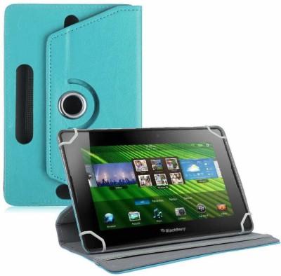 TGK Flip Cover for BlackBerry PlayBook 7 inch Tablet(Blue, Cases with Holder)