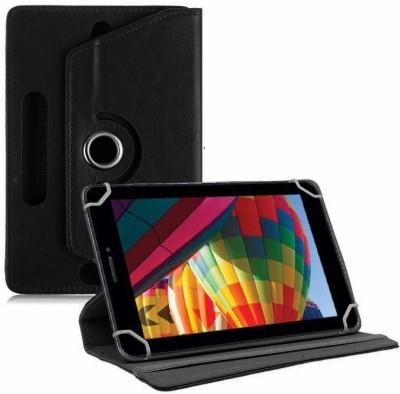 """TGK Flip Cover for iBall Slide Performance Series 3G 7271-HD70 Tablet 7""""(Black, Cases with Holder)"""