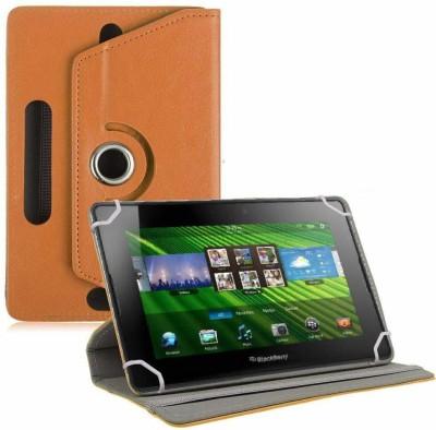TGK Flip Cover for BlackBerry PlayBook 7 inch Tablet(Orange, Cases with Holder)