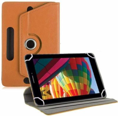 """TGK Flip Cover for iBall Slide Performance Series 3G 7271-HD70 Tablet 7""""(Orange, Cases with Holder)"""