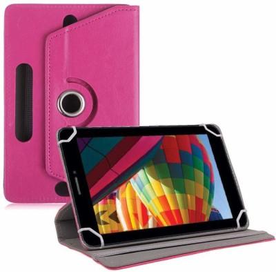 "TGK Flip Cover for iBall Slide Performance Series 3G 7271-HD70 Tablet 7""(Pink, Cases with Holder)"