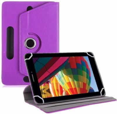 "TGK Flip Cover for iBall Slide Performance Series 3G 7271-HD70 Tablet 7""(Purple, Cases with Holder)"