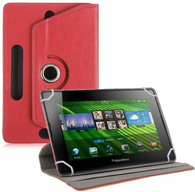 TGK Flip Cover for BlackBerry PlayBook 7 inch Tablet(Red, Cases with Holder)