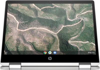 HP ChromeBook Celeron Dual Core - (4 GB/64 GB EMMC Storage/Chrome OS) 12b-ca0006TU Chromebook(12 inch, Natural Silver, 1.35 kg)