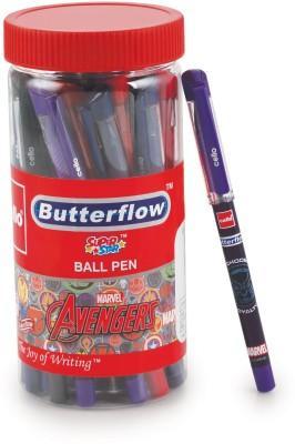 Cello Butterflow Avengers Ball Pen(Pack of 25)