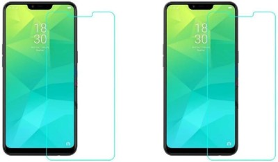 Rockjon Impossible Screen Guard for Realme 2(Pack of 2)
