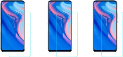 ACM Tempered Glass Guard for Huawei Y9 Prime 2019(Pack of 3)