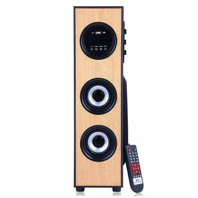 DJ Dynamc multimedia floor standing tower 5.1 Home Cinema, Tower Speaker, Soundbar Multimedia, Bluetooth, USB, DVD, AUX, Bluetooth Soundbar(Black, 5.1...
