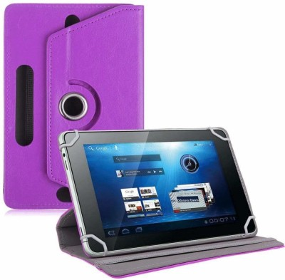 TGK Book Cover for Ubislate7DCX Tablet/DATAWIND 7DCX Plus 7 inch(Purple, Cases with Holder)