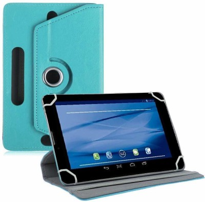 TGK Flip Cover for Datawind UbiSlate 7C Plus, 3G7Z Tablet 7 inch(Blue, Cases with Holder)