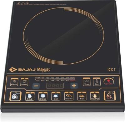 BAJAJ ICX 7 Induction Cooktop(Black, Push Button)