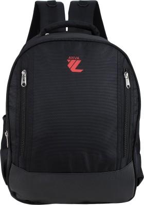 Anva 17.3 inch Laptop Backpack(Black)