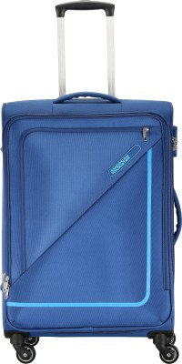 American Tourister MONTANA SPINNER 80CM-BLUE Expandable Check-in Luggage – 31 inch