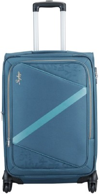 Skybags SPORTLIGHT 4W STR 75 BLUE Expandable Check in Luggage   28 inch Skybags Suitcases