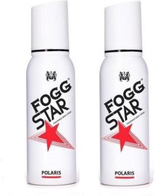 Fogg STAR POLARIS 120 ML Body Spray  -  For Men  (240 ml, Pack of 2)