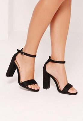 SHOPIEE Women Black Heels