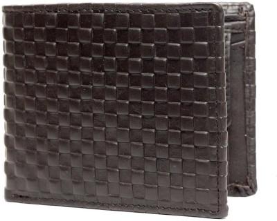 Teakwood Men Casual Brown Genuine Leather Wallet 6 Card Slots Teakwood Wallets