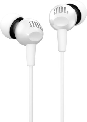 JBL C150SI Wired Headset(White, In the Ear)