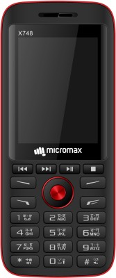Micromax X748(Black&Red)